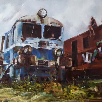 Railway landscape -6